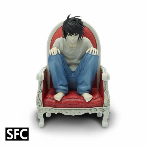 Estatua 1/10 SFC Abystyle Death Note L 15 cm