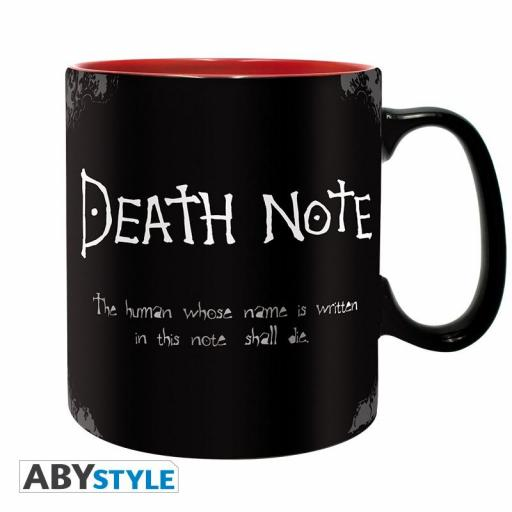 Taza Death Note mate