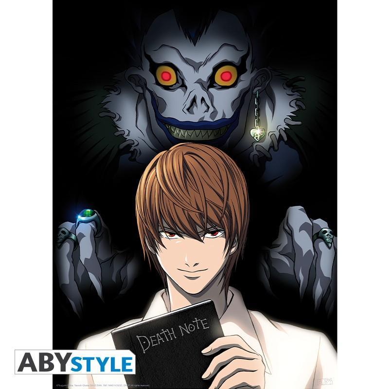 Póster 52 x 38 Death Note Light y Ryuk