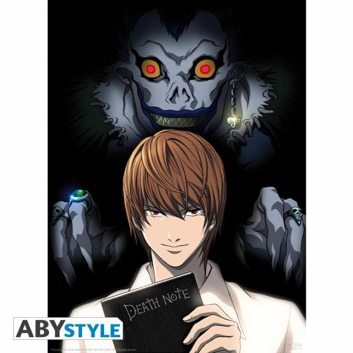 Póster 52 x 38 Death Note Light y Ryuk