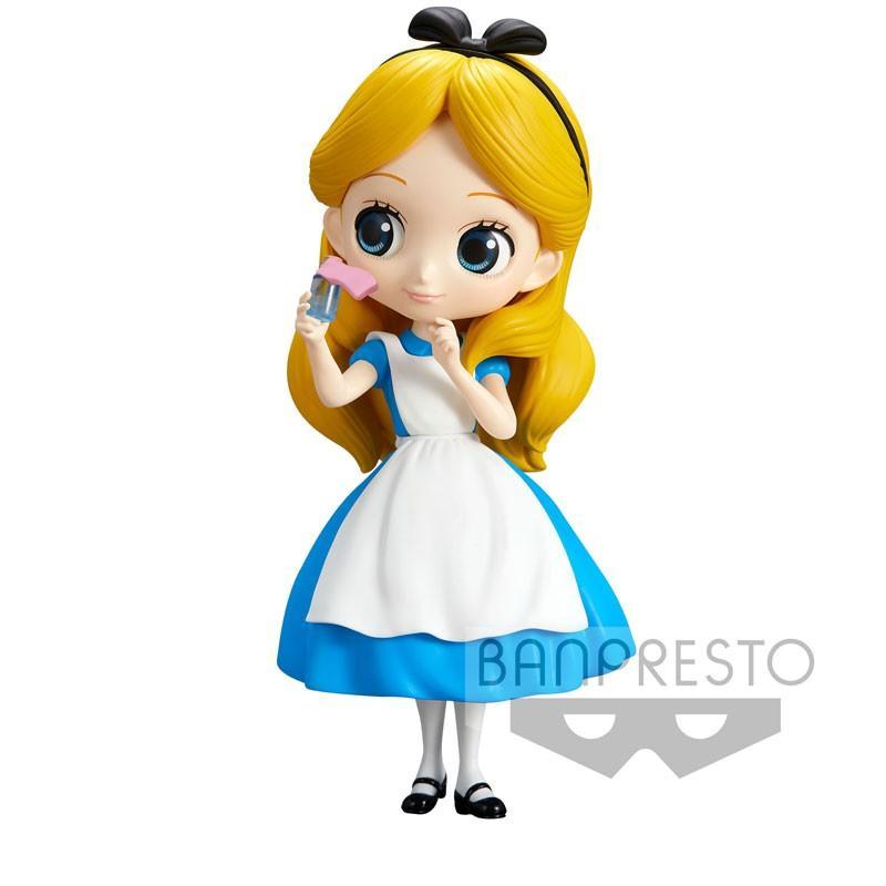 Figura QPosket Disney Alicia Drink Me 14 cm