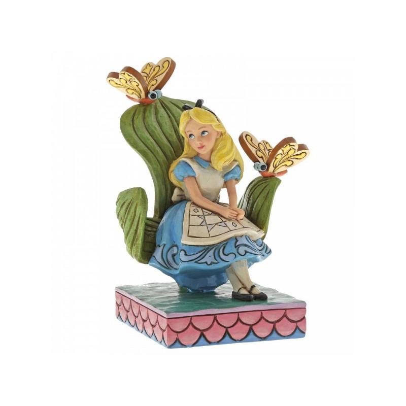 Figura Enesco Disney Alicia en el País de las Maravillas Traditions Curiouser and Curiouser 14 cm