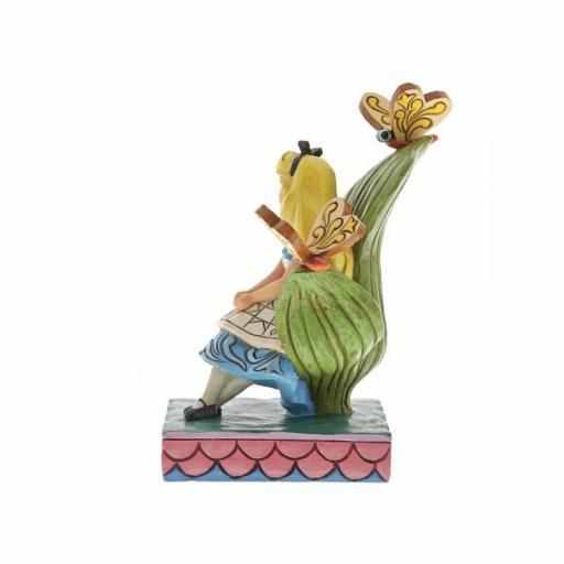 Figura Enesco Disney Alicia en el País de las Maravillas Traditions Curiouser and Curiouser 14 cm [1]