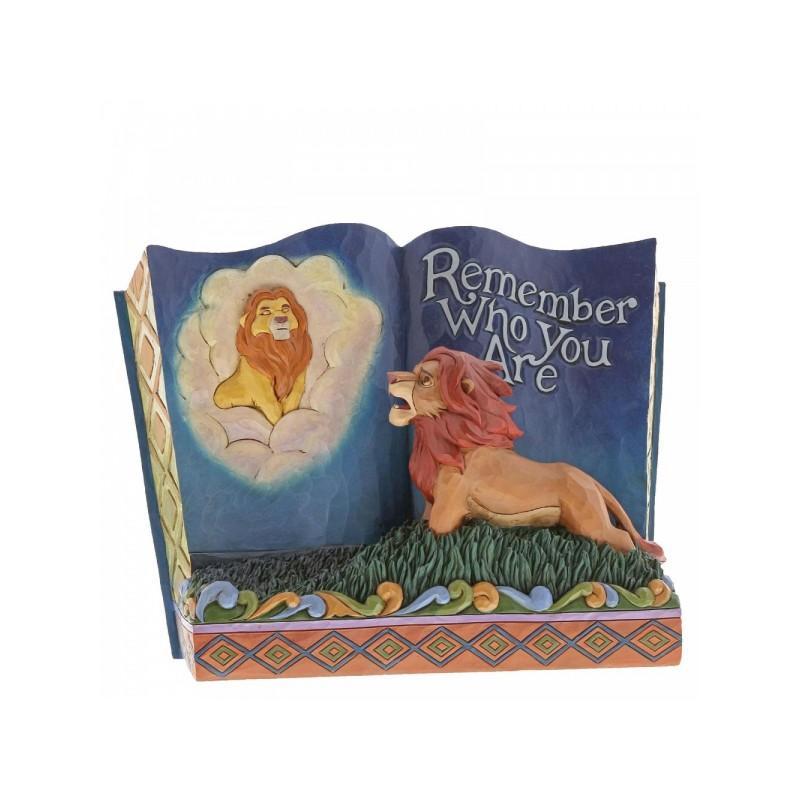 Figura Enesco Disney Traditions El Rey León Storybook: Remember Who You Are 14 cm