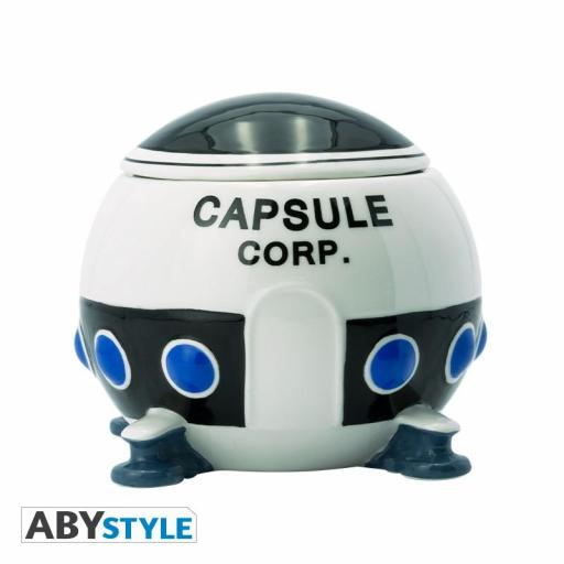 TAZA 3D DRAGON BALL CAPSULE CORP SPACESHIP