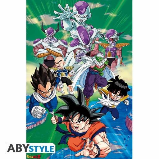Poster 61 x 91 Dragon Ball Z Freezer