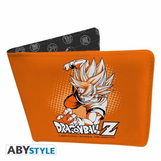 Cartera Dragon Ball Z Goku Super Saiyan