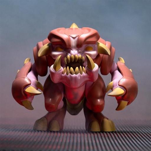 Figura articulada Doom Eternal Pinky 13 cm