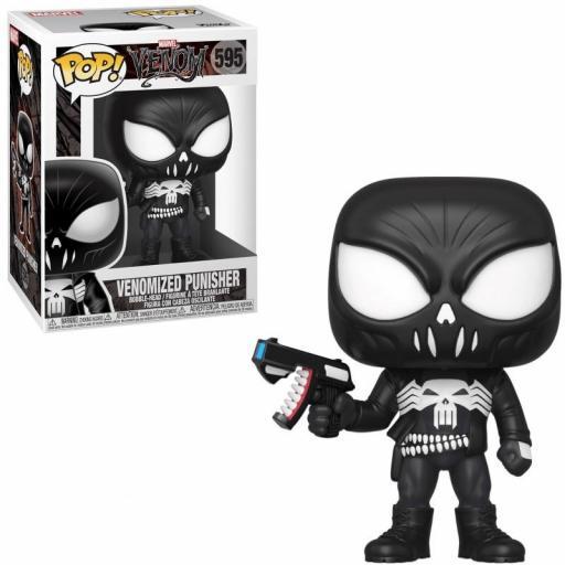 Figura Funko Pop! Marvel Venom Punisher serie 3 [3]