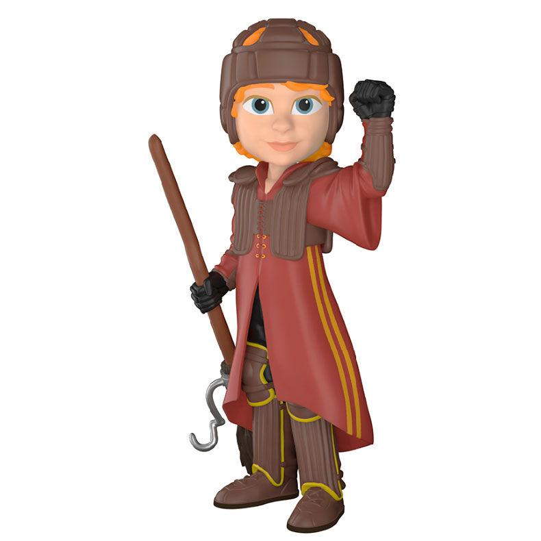 FIGURA ROCK CANDY HARRY POTTER RON QUIDDITCH