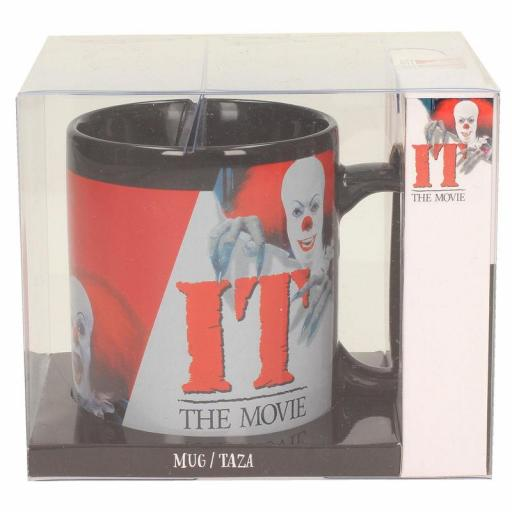 TAZA IT PENNYWISE 1990 NEGRA