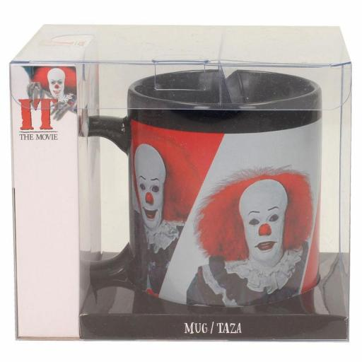 Taza IT Pennywise 1990 Black [1]