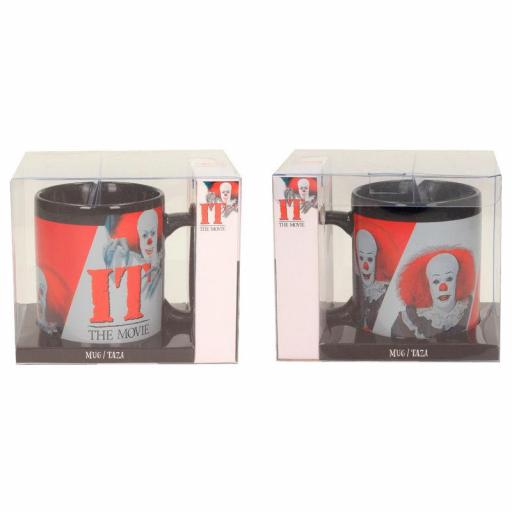 Taza IT Pennywise 1990 Black [2]