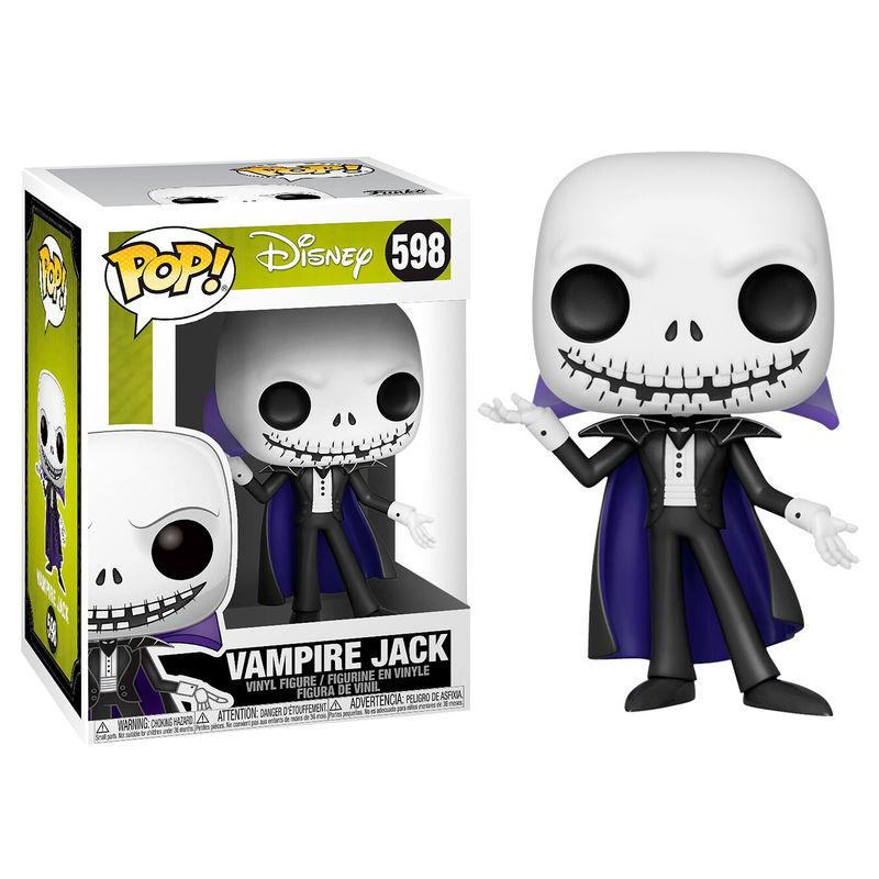 Figura Funko Pop Nightmare Before Christmas Jack Skellington Vampire