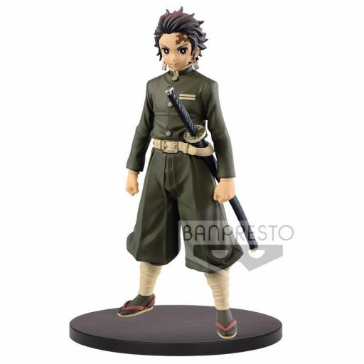 ESTATUA BANPRESTO DEMON SLAYER KIMETSU NO YAIBA TANJIRO KAMADO 15 CM