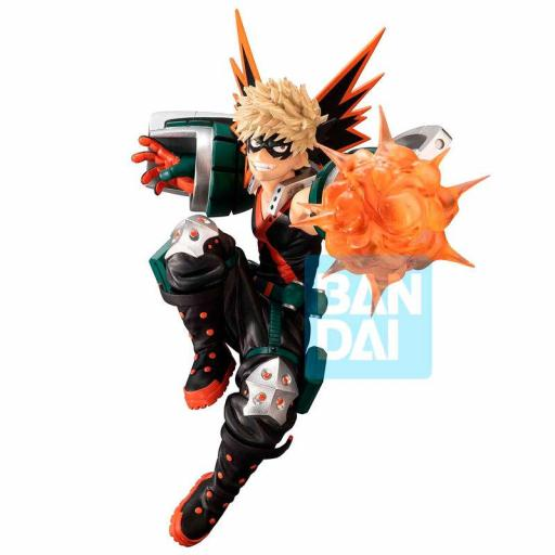 Estatua Ichibansho My Hero Academia  Next Generations feat. Smash Rising Katsuki Bakugo 15cm