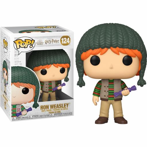 Figura Funko Pop Harry Potter Ron Weasley Holiday
