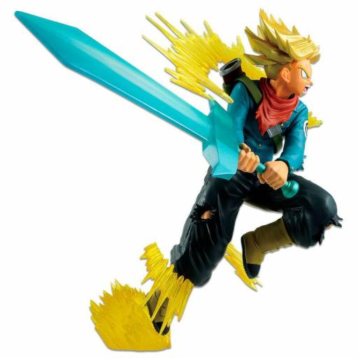 Estatua Banpresto Dragon Ball Ichibansho Future Trunks Super Saiyan 20 cm [3]