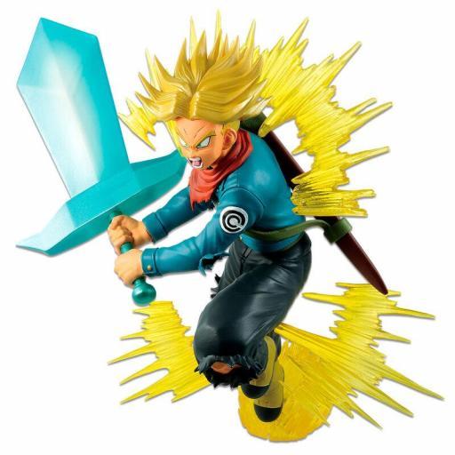 Estatua Banpresto Dragon Ball Ichibansho Future Trunks Super Saiyan 20 cm [1]