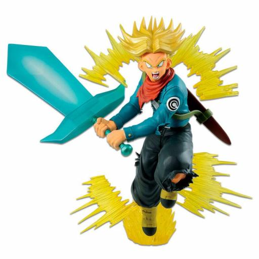 ESTATUA BANPRESTO ICHIBANSHO DRAGON BALL FUTURE TRUNKS SUPER SAIYAN 20 CM