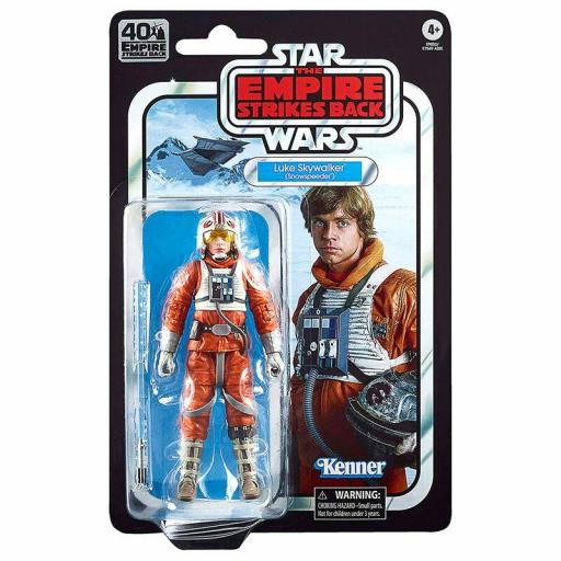 Figura Articulada Hasbro Black Series Star Wars The Empire Strikes Back Luke Skywalker Snowspeeder 15 cm
