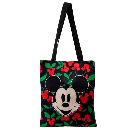 Bolsa Tela Disney Mickey Mouse  Shopping Cherry