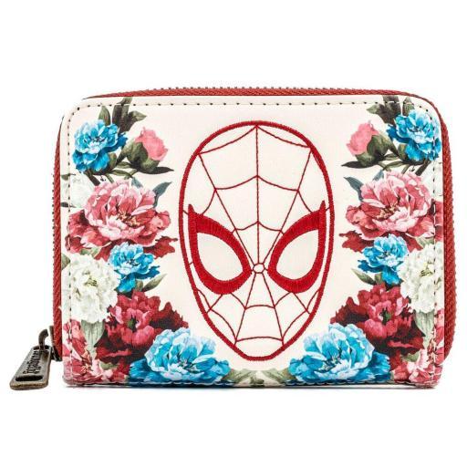 Cartera Marvel Spiderman Floral