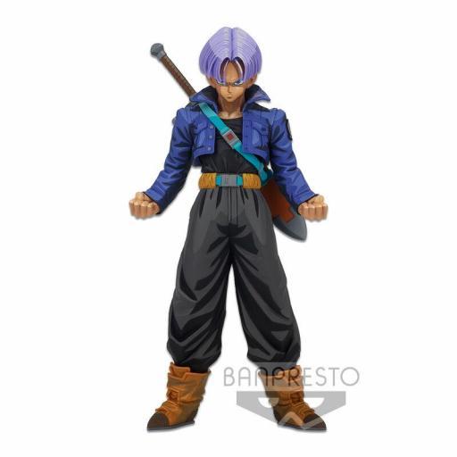 Estatua Banpresto Dragon Ball Z Trunks Manga Dimensions Super Master Stars Piece 24 cm