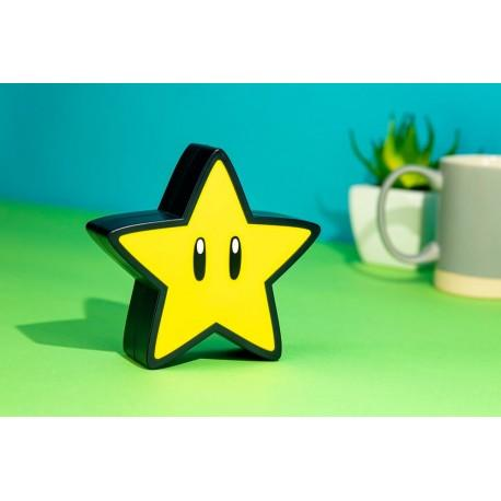Lámpara con sonido Super Mario Super Star