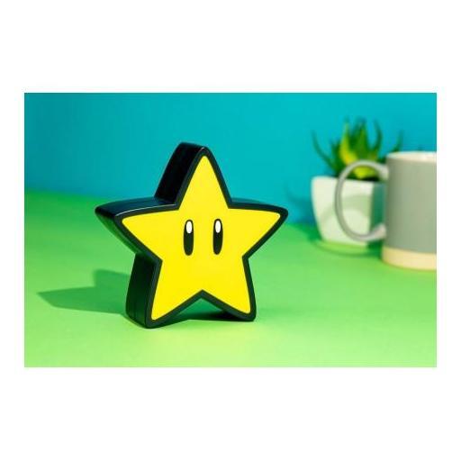 Lámpara con sonido Super Mario Super Star [0]
