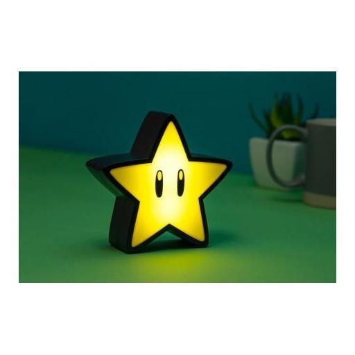 Lámpara con sonido Super Mario Super Star [1]