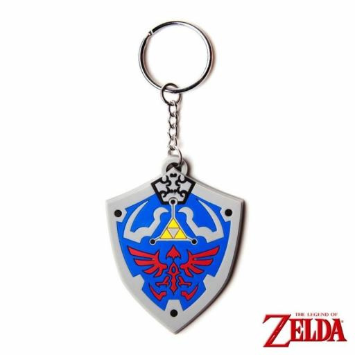 LLAVERO THE LEGEND OF ZELDA ESCUDO