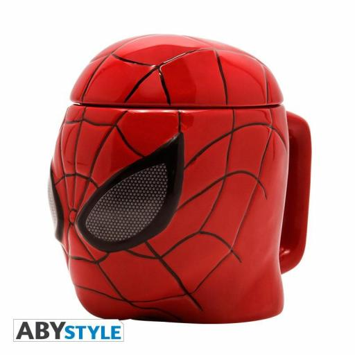 Taza 3D Marvel Spiderman Face