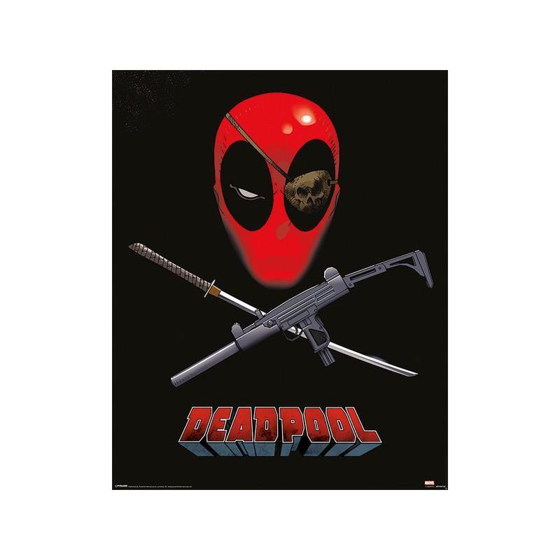 Poster Marvel Deadpool Eye Patch 40 x 50