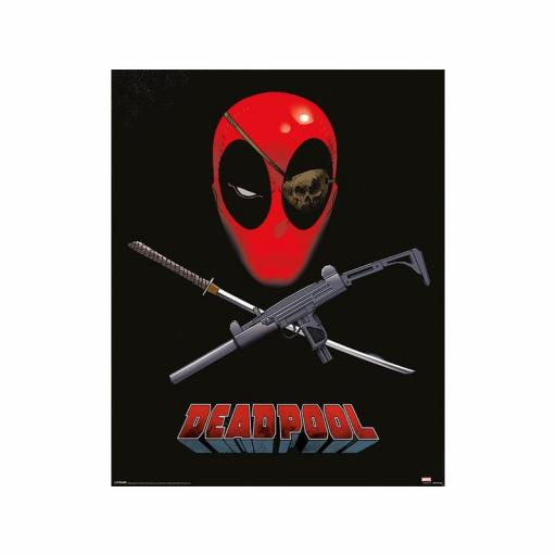 Poster 40 x 50 Marvel Deadpool Eye Patch