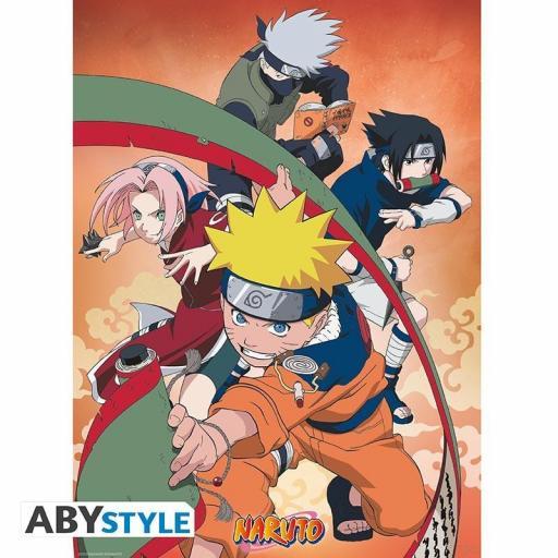 Poster Naruto Equipo 7 52 x 38 cm