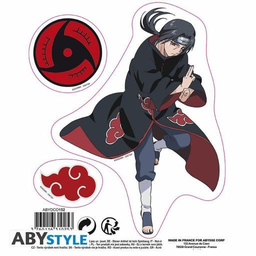 Pegatinas Naruto Shippuden Sasuke e Itachi [1]