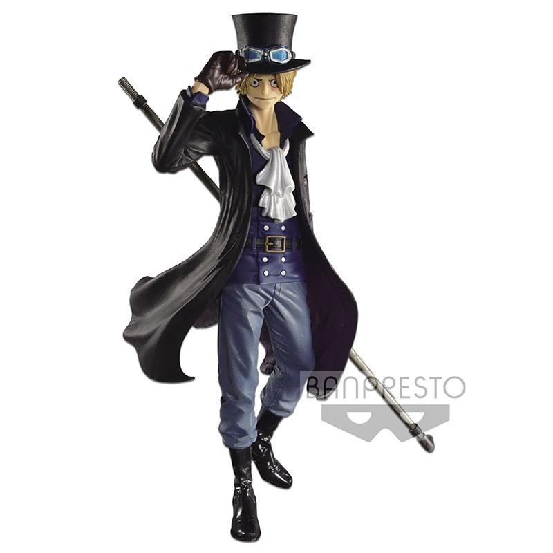 Estatua Banpresto SCultures Colosseum One Piece  Sabo 24 cm