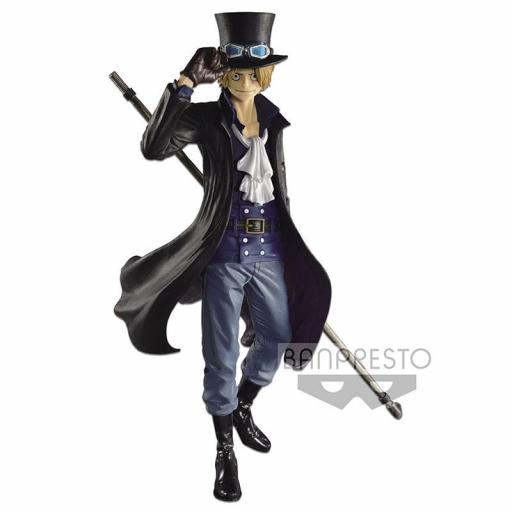 Estatua Banpresto SCultures Colosseum One Piece  Sabo 24 cm [0]