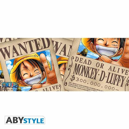 TAZA ONE PIECE LUFFY WANTED [1]