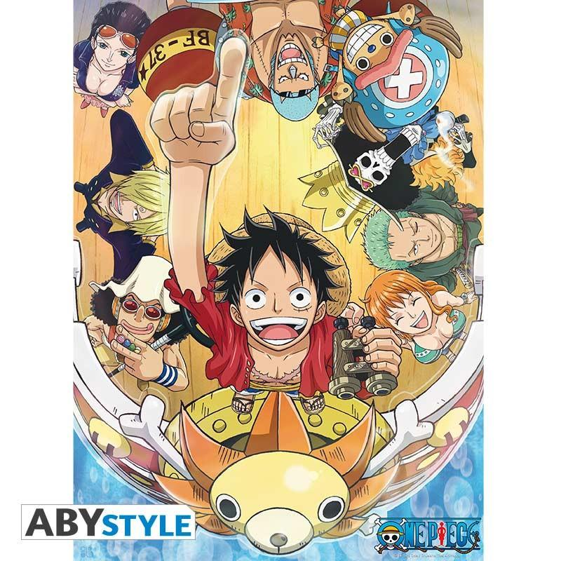 Poster One Piece New World 52 x 38