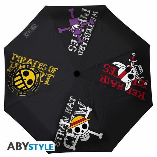 Paraguas One Piece Pirates Emblems