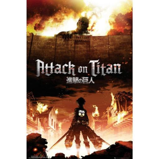 Poster Attack On Titan Key Art