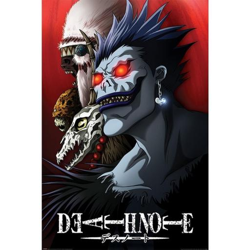Poster 61 x 91 Death Note Shinigami