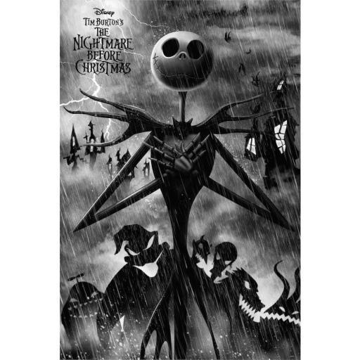 Poster 60 x 91 Pesadilla Antes de Navidad Jack Skellington