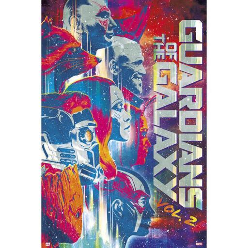 Poster 60 x 91 Guardianes de la Galaxia Vol 2