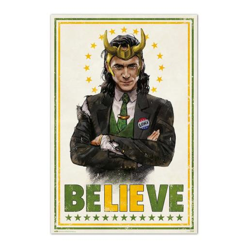 Poster 61 x 91 Marvel Loki