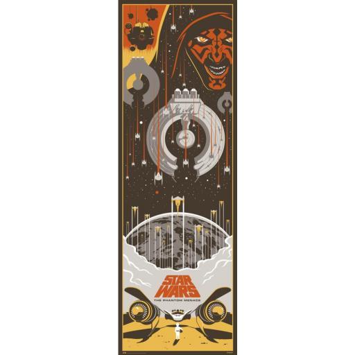Poster 53 x 158 puerta Star Wars Episodio 1