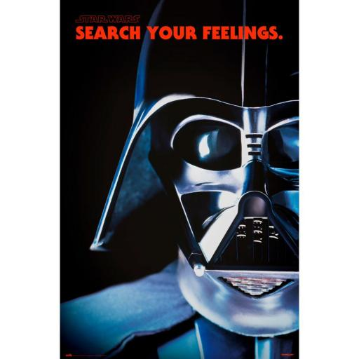 Poster 61 x 91 Star Wars Darth Vader