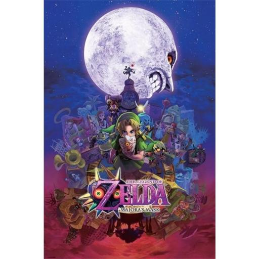 Poster 60 x 91 The Legend of Zelda Majoras Mask